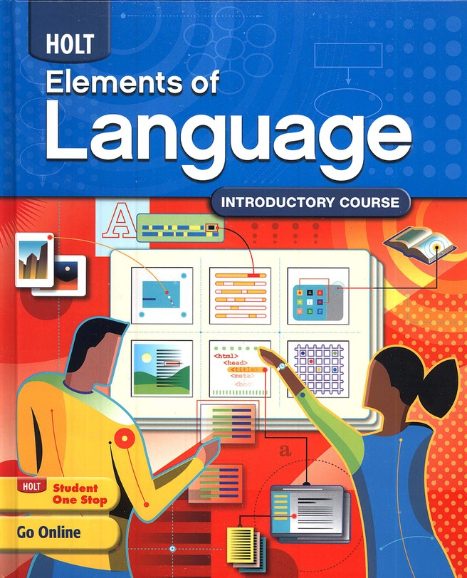 Holt Elements of Language Grade 6 Homeschool Package
