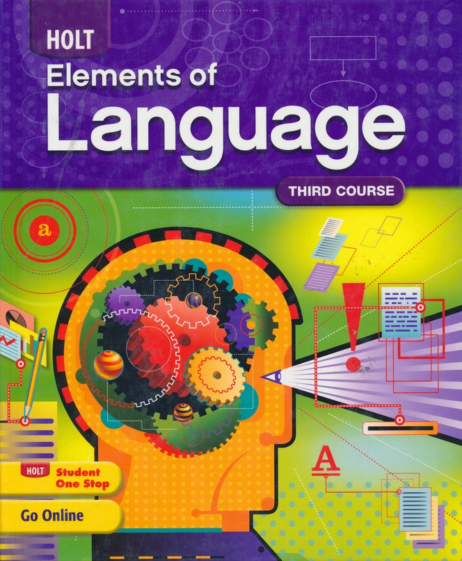Holt Elements of Language Grade 9 Homeschool Package