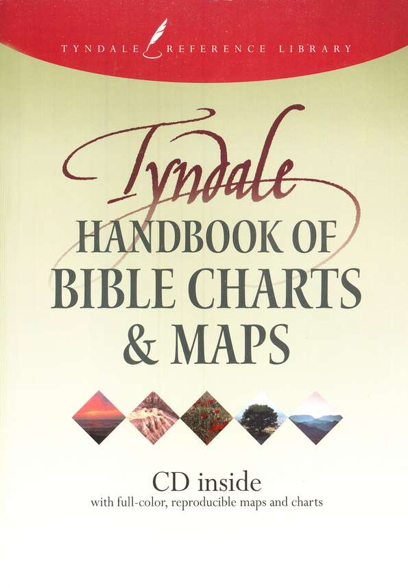 Tyndale Handbook of Bible Charts & Maps with CD-ROM