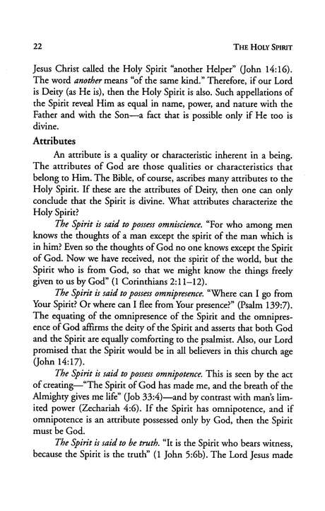 The Holy Spirit, Revised & Expanded