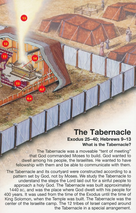 Tabernacle Pamphlet - 5 Pack