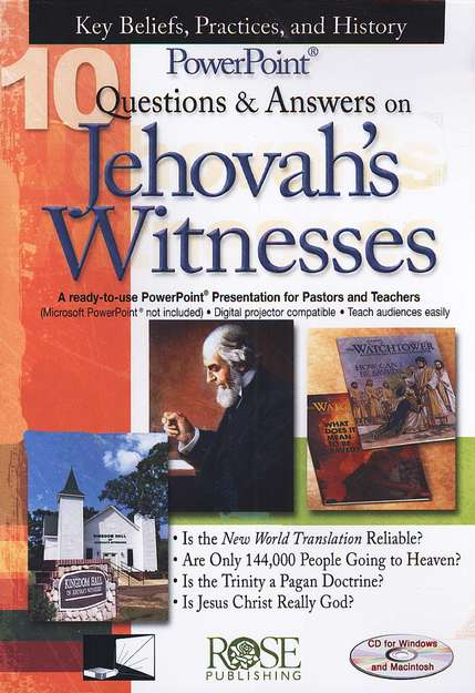 10 Questions & Answers on Jehovah's Witnesses: PowerPoint CD-ROM