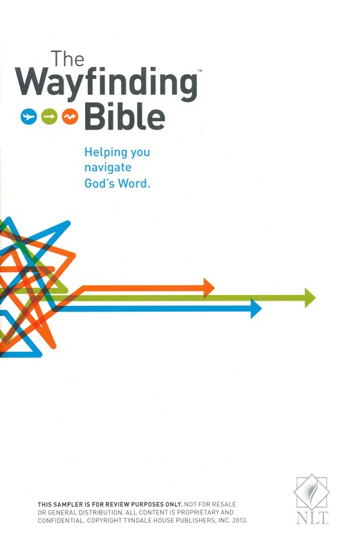 The NLT Wayfinding Bible, Hardcover