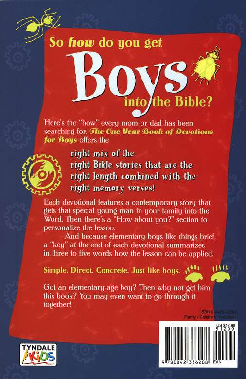 The One-Year Devotions for Boys