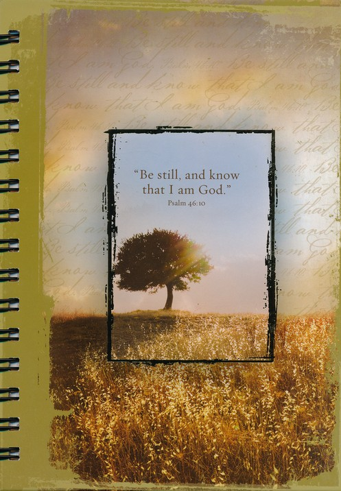 Large Spiral-bound Journal - Be Still and Know That I Am God
