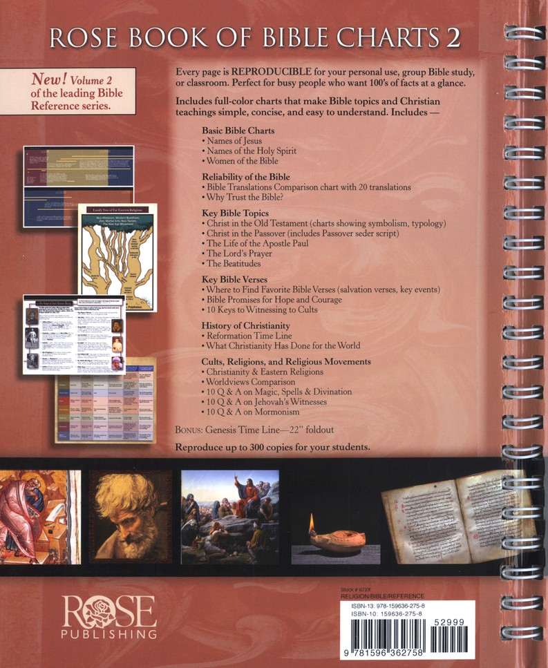 Rose Book of Bible Charts, Volume 2