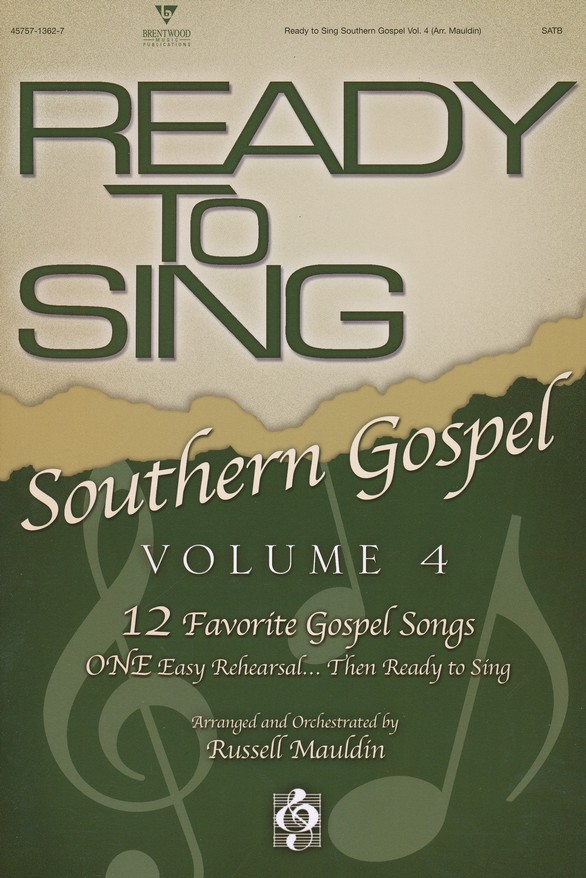 Ready to Sing Southern Gospel, Volume 4