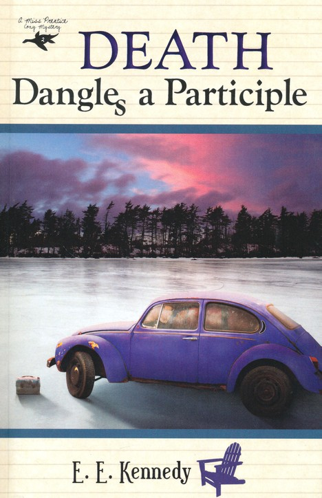 Death Dangles a Participle, Miss Prentice Mystery Series #2