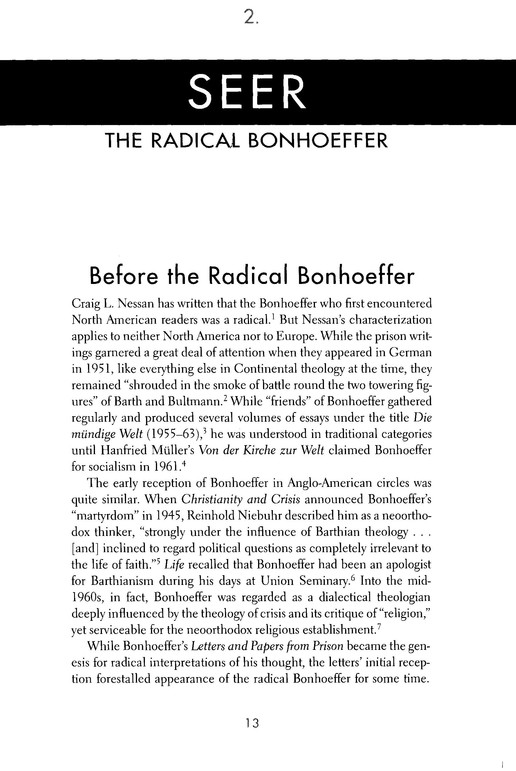 The Bonhoeffer Phenomenon: Portraits of a Protestant Saint
