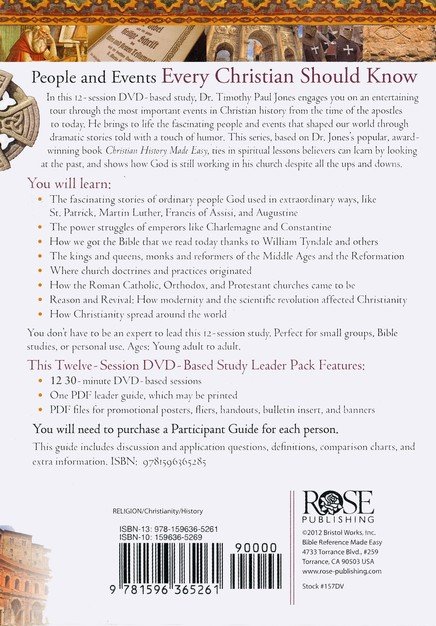 Christian History Made Easy - DVD
