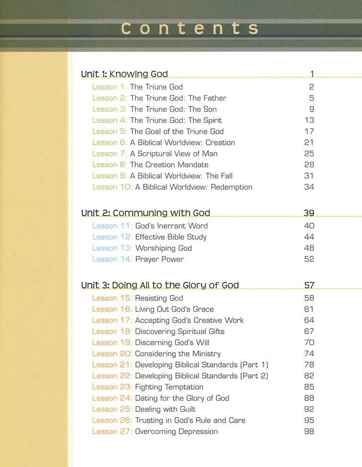 BJU Bible Truths Level F (Grade 12) Student Text, Third Edition