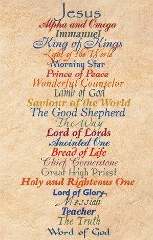 Names of Jesus, Postcards, 25