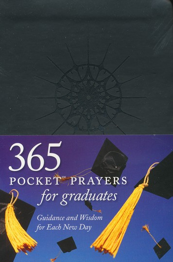 365 Pocket Prayers for Graduates: Guidance and Wisdom for Each New Day