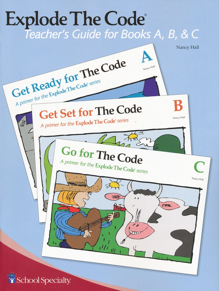 Explode the Code, Teacher's Guide for Books A, B, and C