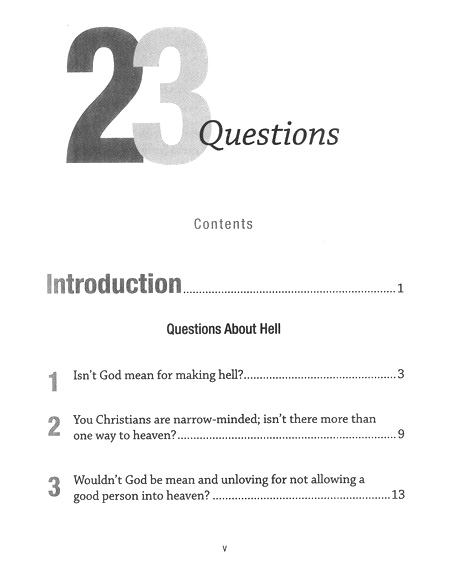 23 Questions About Hell--Book and DVD