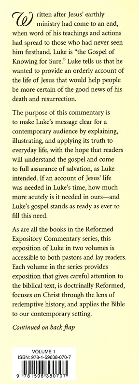 Luke, 2 Volumes: Reformed Expository Commentary [REC]
