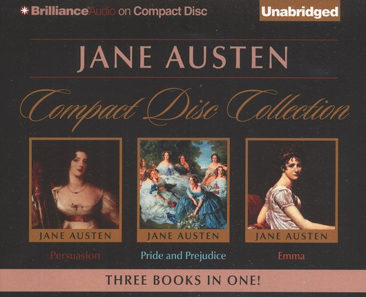 Jane Austen Unabridged CD Collection: Pride and Prejudice, Persuasion, and Emma