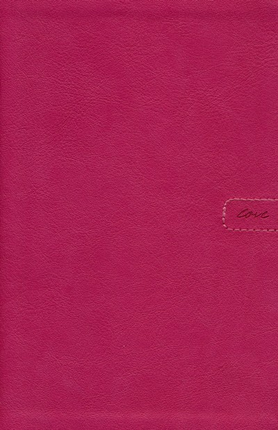 NLT Teen Life Application Study Bible, Compact Pink Love Leatherlike