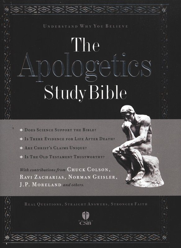 HCSB Apologetics Study Bible, Hardcover