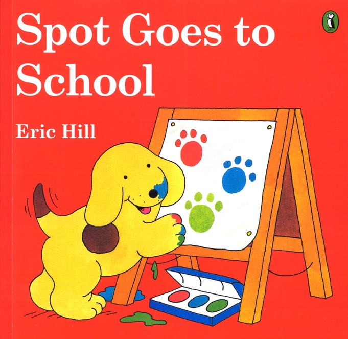 Spot Goes to School, A Lift-the-Flap Book