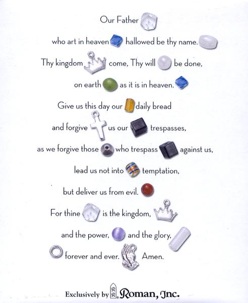 The Lord's Prayer Beaded Bracelet