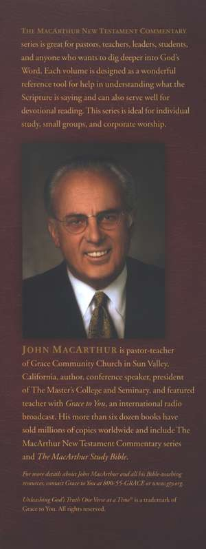 1-3 John: The MacArthur New Testament Commentary