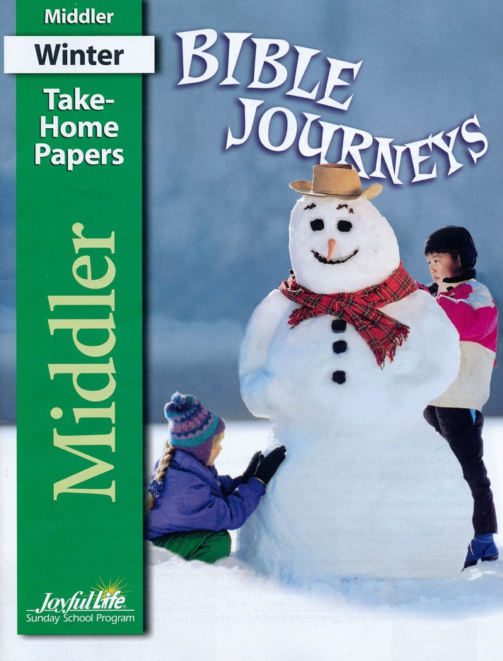Bible Journeys Middler (Grades 3-4) Take-Home Papers