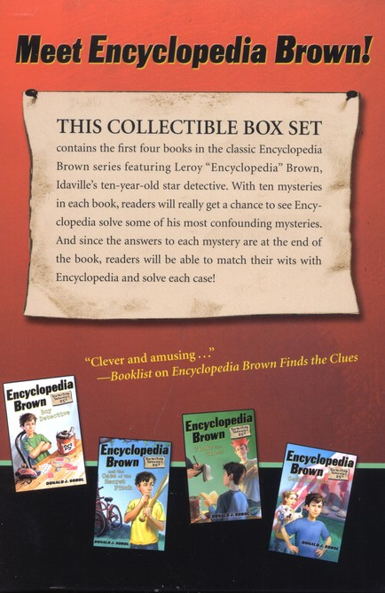 Encyclopedia Brown Box Set