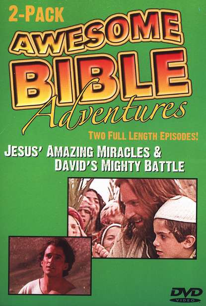 Awesome Bible Adventures: Jesus' Amazing Miracles & David's  Mighty Battle, DVD