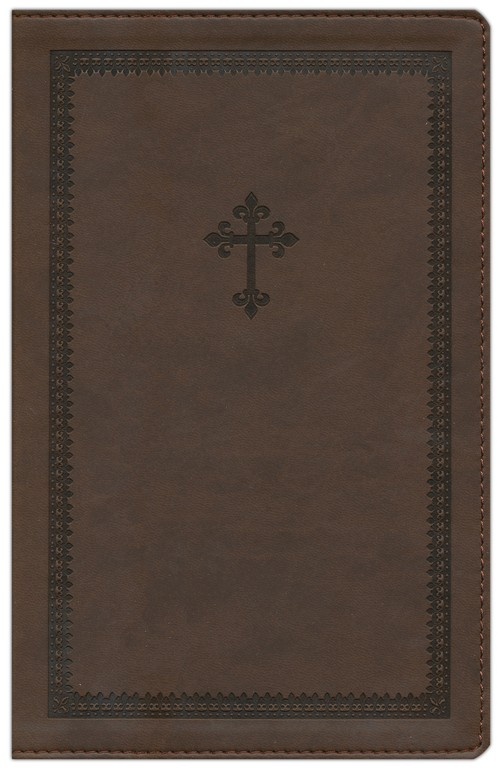 NIV Thinline Bible, Italian Duo-Tone, Chocolate