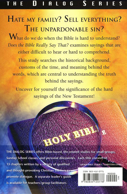 Does The Bible Really Say That?