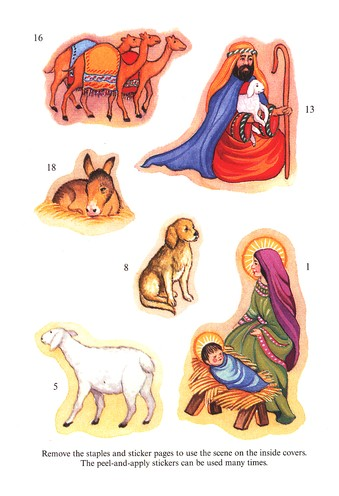 Nativity Sticker Activity Book