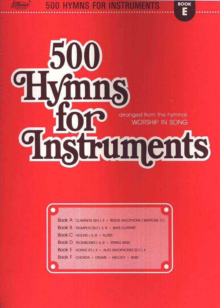 500 Hymns for Instruments, Book E