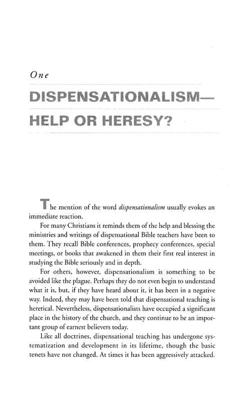 Dispensationalism, Revised and Expanded