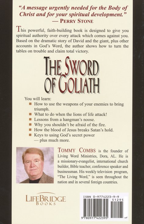 The Sword of Goliath: No Weapon formed Against You Shall Prosper