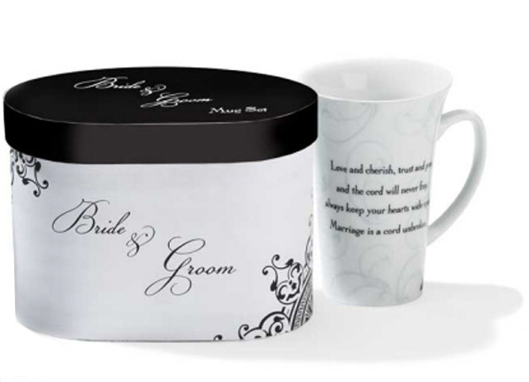 A Cord Unbroken, Bride & Groom Mug Set
