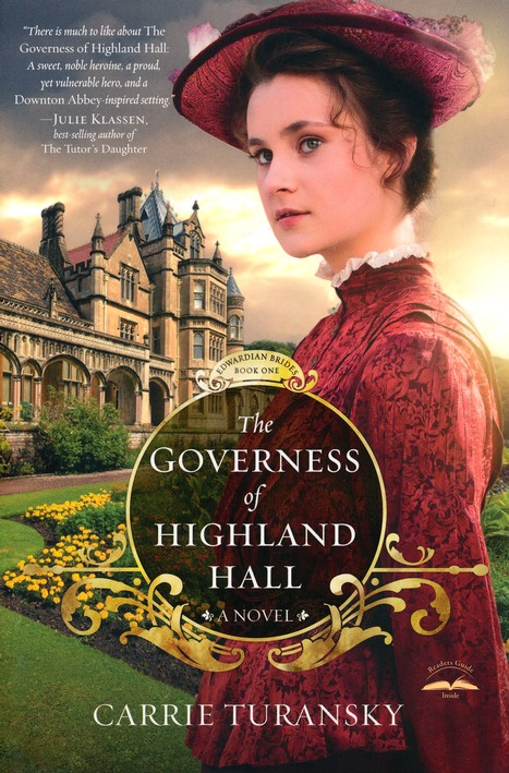 The Governess of Highland Hall, Edwardian Brides Series #1