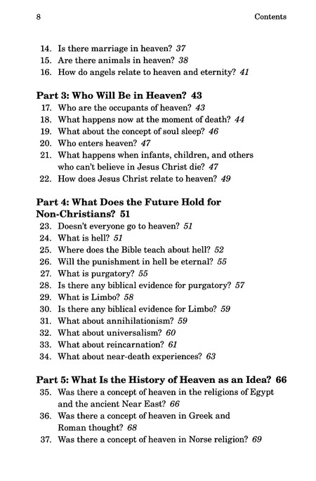 Answers to Common Questions about Heaven and Eternity