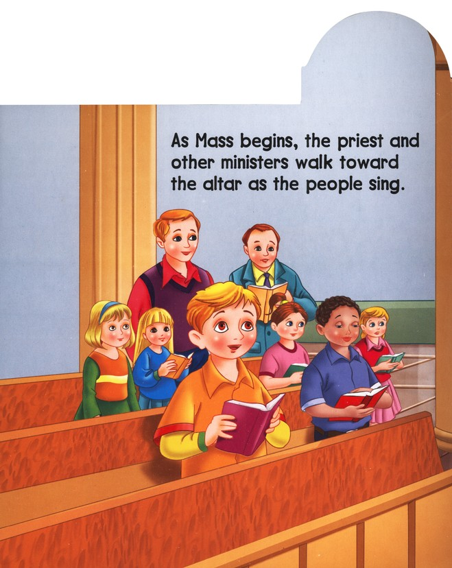 Celebrating Mass, St. Joseph Tab Book, Board Book