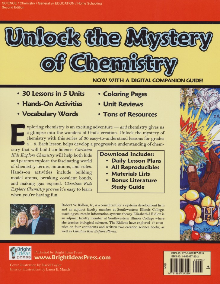 Christian Kids Explore Chemistry, Second Edition