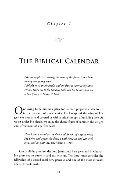 Prophetic Calendar: The Feasts of Israel
