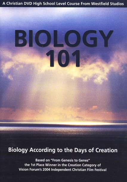Biology 101: Biology According to the Days of  Creation--DVDs