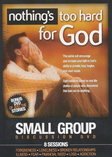 Nothing's Too Hard For God Small Group Discussion DVD
