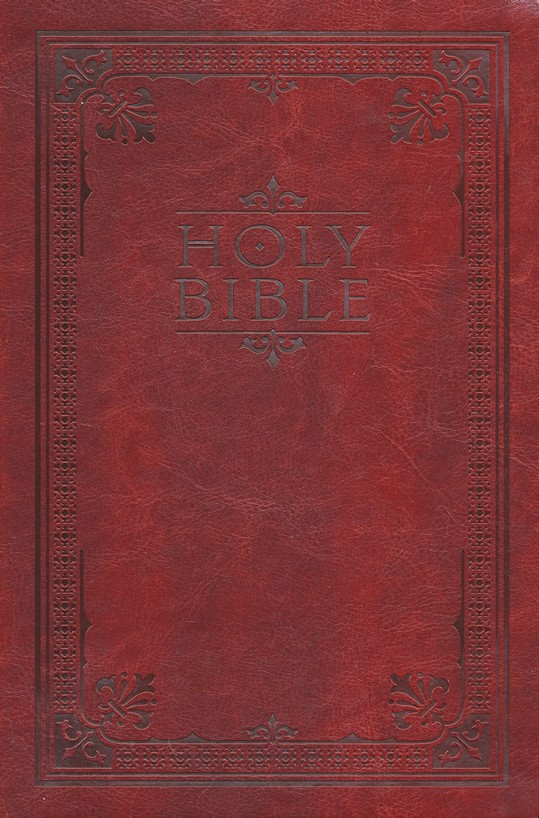 NIV Note-Taker's Bible--soft leather-look, brown