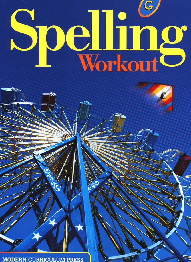 Modern Curriculum Press Spelling Workout Grade 7 Homeschool Bundle (2002 Edition)