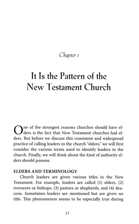 Why Elders? A Biblical and Practical Guide for Church Members
