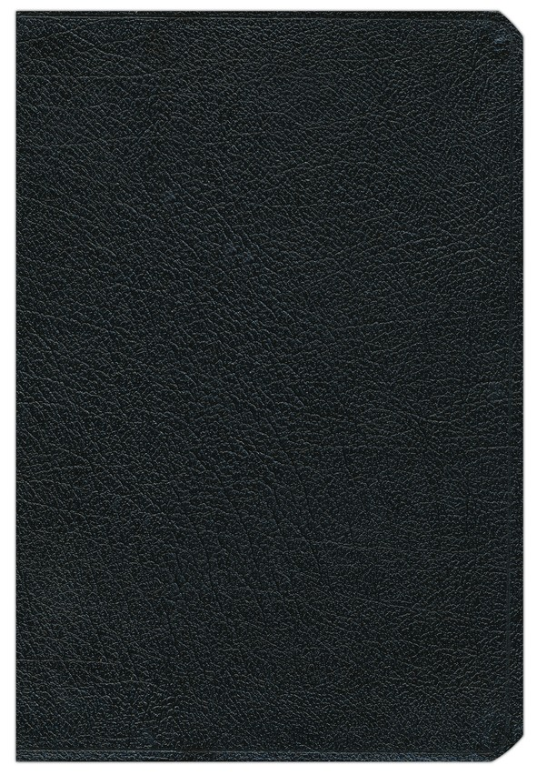 NIV Life Application Study Bible, Bonded Leather, Black Thumb-Indexed