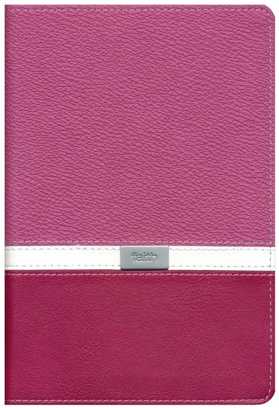 NIV Compact Thinline Bible, Orchid/Razzleberry Duo-Tone