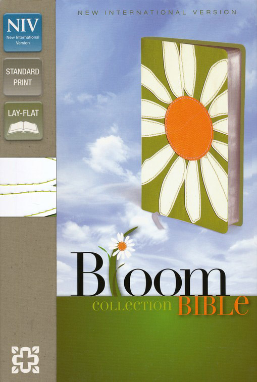 NIV Thinline Bible, Bloom Collection, Daisy Duo-Tone