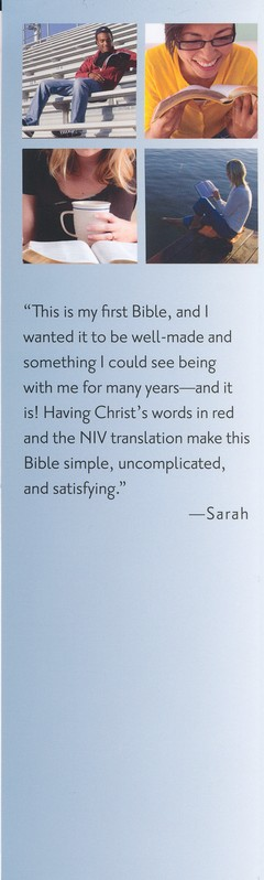 NIV Thinline Large-Print Bible